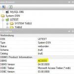 DBMS Produktinformation